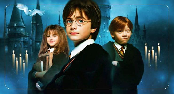 Гермиона, Гарри Поттер и Рон
