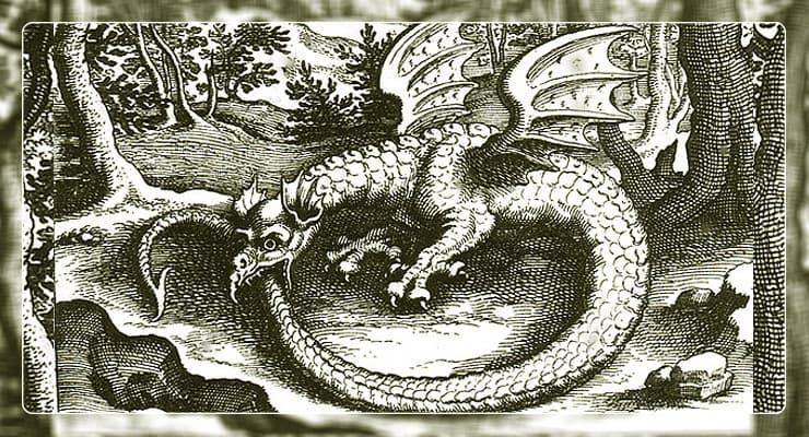 Изображение Змей Уроборос