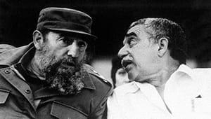 Фидель Кастро и Гарсиа Маркес