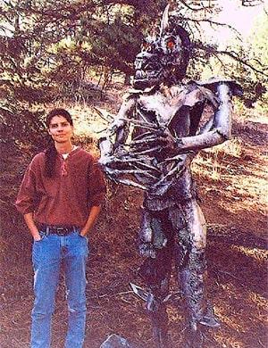 Скульптура Шрайка